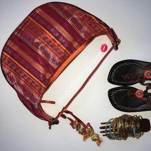 Donald J. Pliner Handbags - 💄🆕 Donald J Pliner Metallic Tapestry Bag