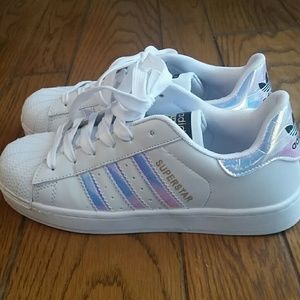 adidas superstar iridescent damen