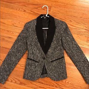 Mossimo Supply Co Jackets & Blazers - Black/White/Silver Tweed Blazer NWT
