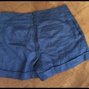 Pants - Navy blue shorts NWT