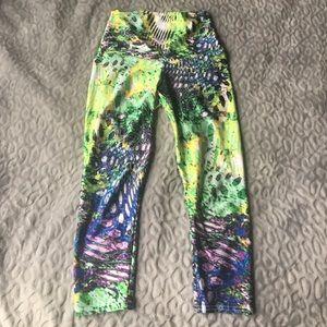 Emily Hsu Designs Pants - High-waisted Capri-length Yoga Pants