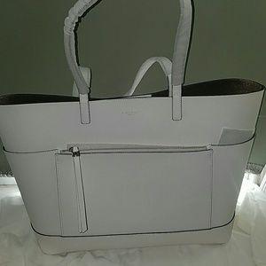 henri bendel Handbags - LARGE white Henri Bendel Shoulder bag