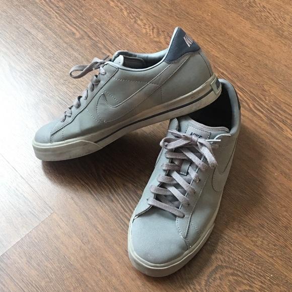 Nike Sweet Classic Gray Leather Men s 10. M 58d41ed5713fded7f60002d4 2abb81361
