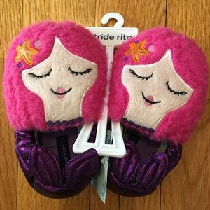 Stride Rite Other - NEW Stride Rite Mermaid Moccasin Slippers