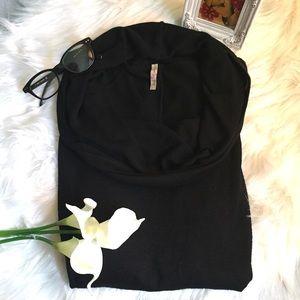 Olivia Moon Sweaters - Olivia 🌙 Moon 3/4 Sleeve Cowl Neck Dolman Sweater