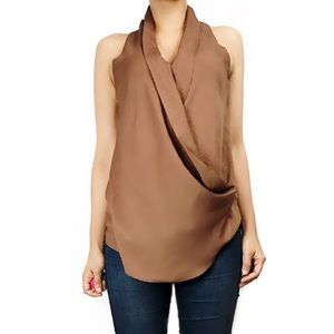 Miss Me Tops - Miss me mm couture brown blouse