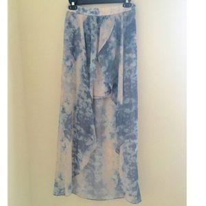 Kimchi Blue Dresses & Skirts - Multi color high low skirt