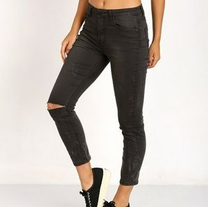 One Teaspoon Denim - RDUCED NWT One Teaspoon Dixies cropped skinny jean