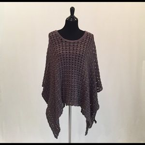 ANGL Sweaters - ANGL Open Knit Poncho