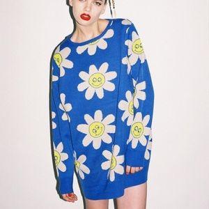Lazy Oaf Sweaters - Lazy Oaf Daisy Jumper