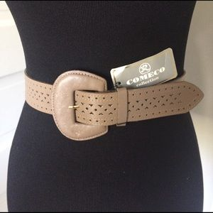 Vintage Accessories - Vintage Comeco Collection Leather Belt