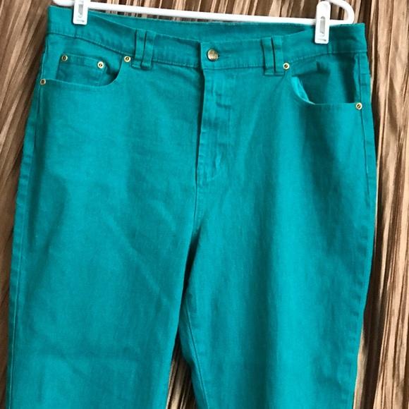 DG2 by Diane Gilman Jeans - 💕DG2💕Turquoise Jeans Size 14T