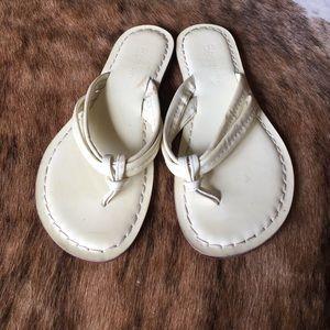 Bernardo Shoes - Bernardo cream sandal size 8