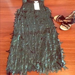 Us Angels Other - NWT Us Angels girls size 14 fringe dress green