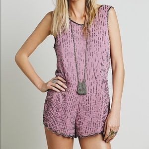 Free People Dresses & Skirts - Free People Perfectly Embellished Romper