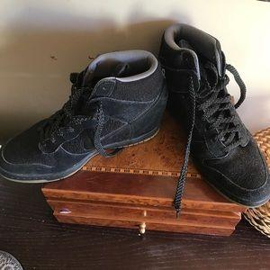 Nike sneaker wedges
