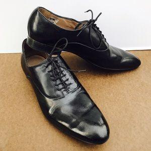 Zara Other - Zara Man Black Tag Dress Shoes, Size 9
