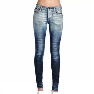 Cult of Individuality Denim - Cult of Individuality Crop Jeans