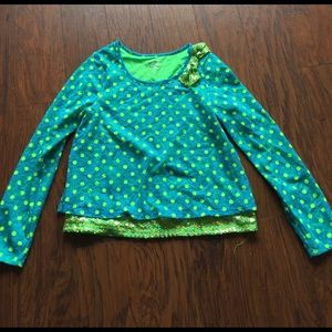 Justice Other - Adorable Justice top. Size 16