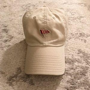 American Needle Accessories - Preppy khaki/beige flag cap