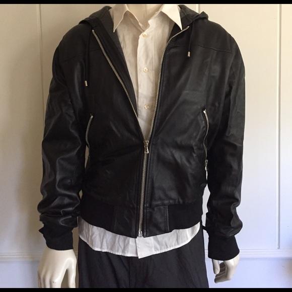 7980e0aa38 Dolce & Gabbana Hooded Bomber Jacket