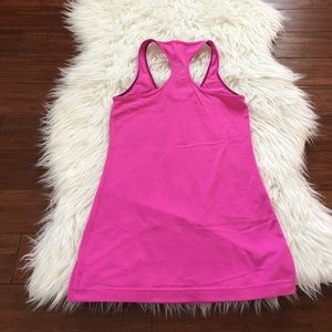 lululemon athletica Tops - Lululemon Bright Pink Cool Racerback Workout Tank