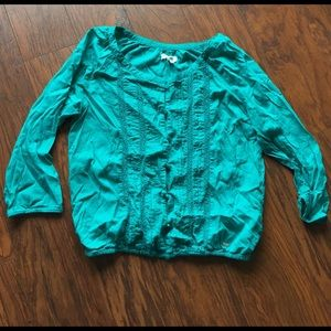 Aeropostale Tops - Precious button up Aeropostale shirt size med