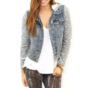 Free People Jackets & Blazers - Free people jean jacket
