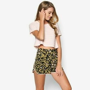 Topshop Pants - Top Shop Animal Print Shorts