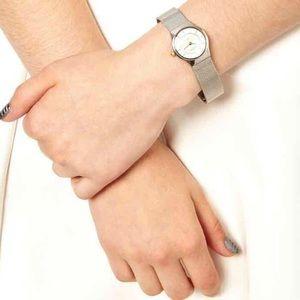 Skagen Accessories - Silver & gold Skagen watch