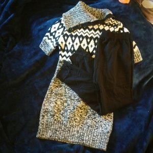 1822 Denim Other - The Eagles Eye Sweater Dress