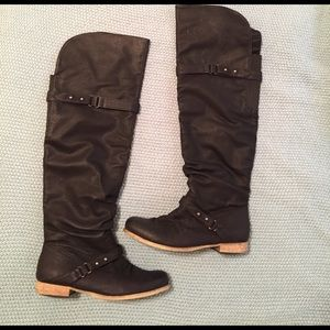 Carlos Santana Shoes - Over the Knee Boots