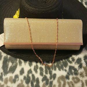 D'margeaux  Handbags - D'margeaux  New York Rose Gold Bag.