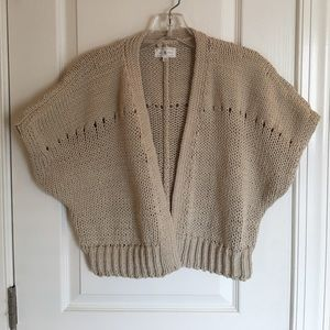 FINAL OFFER Short sleeved cropped cardigan