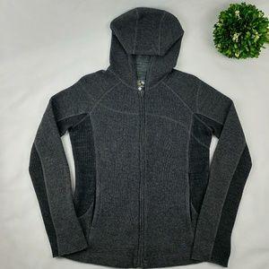Mountain Hard Wear Tops - Mountian Hard Wear womens wool zip up hoodie