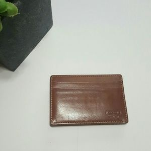 Coach Other - NWOT Coach Brown money clip
