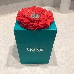 Tieks Accessories - Tieks Box with Orange Bow