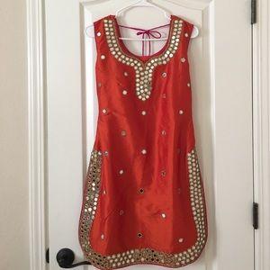 INDIAN frill Saree Shirt Bedsheet Garments Cover organizer Storage Bag 24 pcs