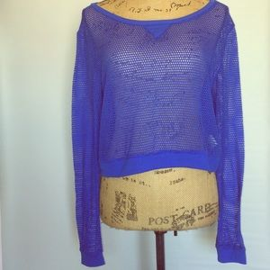 Tops - Mesh long sleeve