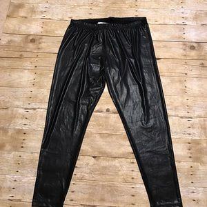 Jessica Simpson Pants - Leather look leggings