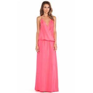 Amanda Uprichard Dresses & Skirts - NEW LISTING💜Amanda Uprichard Crossover Maxi Dress