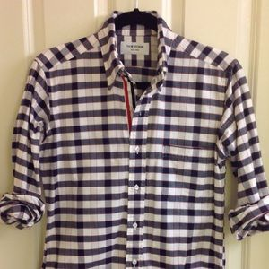 Thom Browne Other - Thom Browne plaid shirt with signature placket