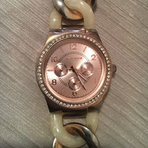Akribos XXIV Accessories - Akribos Chain Link Rose Gold Watch