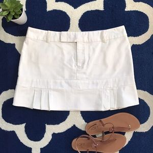 White Skirt • Pleated • American Eagle Outfitters