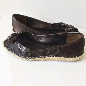Cole Haan Shoes - Cole Haan Brown Knotted Espadrilles Flats Shoes 7