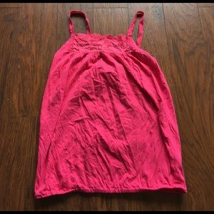 Old Navy Tops - Cute coral old Navy tank top size m