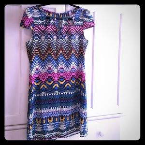 Cutout Tribal Dress