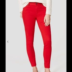Ann Taylor Pants - Ann Taylor Loft five pocket Marisa  leggings.