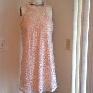 MONTEAU Dresses & Skirts - LIGHT PICK LITTLE LACEY DRESS