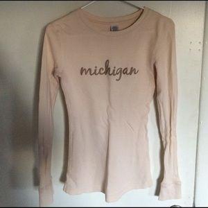 Tops - Michigan long sleeve